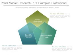 Panel Market Research Ppt Examples Professional