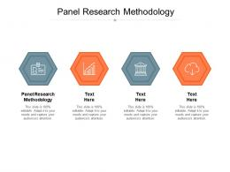 Panel Research Methodology Ppt Powerpoint Presentation Infographics Graphic Images Cpb
