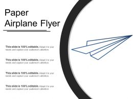 Paper Airplane Flyer