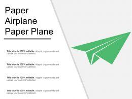 Paper Airplane Paper Plane