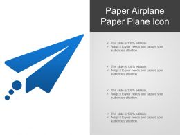 Paper Airplane Paper Plane Icon