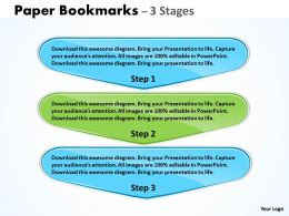 Paper Bookmarks 3 Stages 40