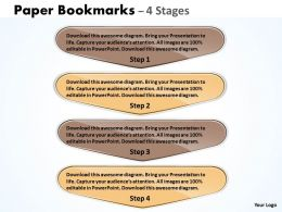 Paper Bookmarks 4 Stages 22