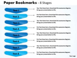 Paper Bookmarks 8 Stages 20