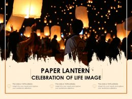 Paper Lantern Celebration Of Life Image