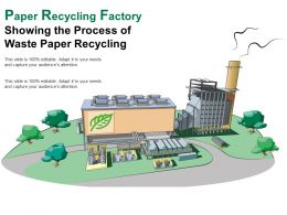 Paper Recycling Factory Showing The Process Of Waste Paper Recycling