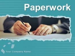 Paperwork Business Analyst Partnership Representing Individual Agreement