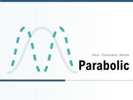 Parabolic Growth Arrow Successful Communication Information Transmitter