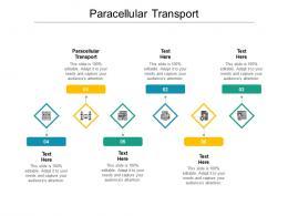 Paracellular Transport Ppt Powerpoint Presentation Summary Brochure Cpb