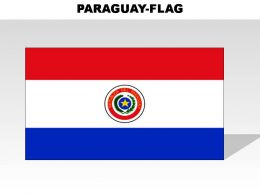 Paraguay Country Powerpoint Flags