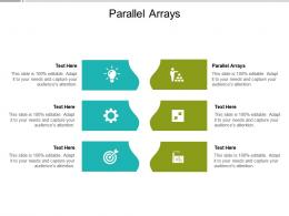 Parallel Arrays Ppt Powerpoint Presentation Ideas Picture Cpb