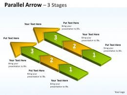 Parallel Arrow 3 Stages 18