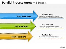 Parallel Arrow 3 Stages 19