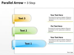 Parallel Arrow 3 Step 9