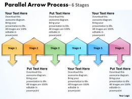 Parallel Arrow Process 10