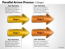 Parallel Arrow Process 2 Stages 13