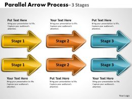 Parallel Arrow Process 3 Stages 21