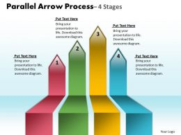 Parallel Arrow Process 4 Stages 15