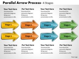 Parallel Arrow Process 4 Stages 17