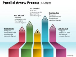 Parallel Arrow Process 5 stages 14