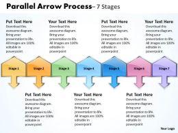 Parallel Arrow Process 8