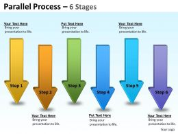 Parallel Arrow Stages 11