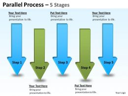 Parallel Arrow Stages 16