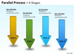 Parallel Arrow Stages 18