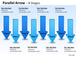 Parallel Arrow Stages 3