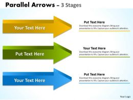 Parallel Arrows 3 Stages 10