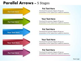Parallel Arrows 5 Stages 9