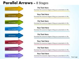 Parallel Arrows 8 Stages 4
