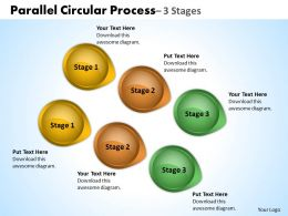 Parallel Circular Process 3 Stages 22