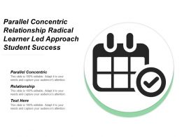 Parallel Concentric Relationship Radical Learner Led Approach Student Success Cpb