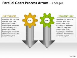 Parallel Gears Process Arrow 2 Stages