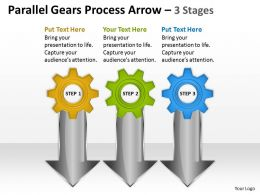 Parallel Gears Process Arrow 3 Stages 23