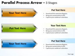 Parallel Process Arrow 3 Stages 34
