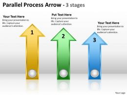 Parallel Process Arrow 3 stages 8