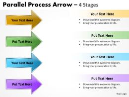 Parallel Process Arrow 4 Stages 10