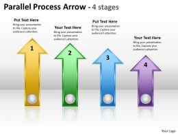 Parallel Process Arrow 4 stages 8