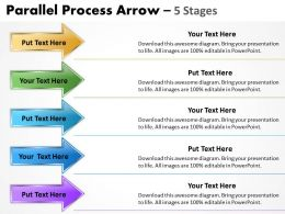 Parallel Process Arrow 5 Stages 10