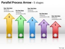 Parallel Process Arrow 5 stages 6