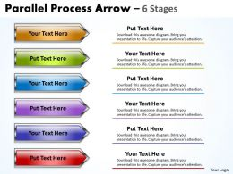 Parallel Process Arrow 6 Stages 16
