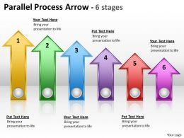 Parallel Process Arrow 6 stages 6