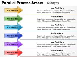 Parallel Process Arrow 6 Stages 7