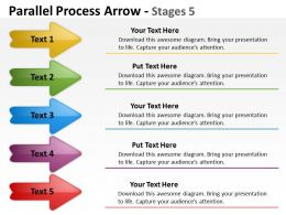 Parallel Process Arrow Stages 11