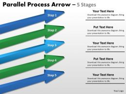 Parallel Process Arrow Stages 28