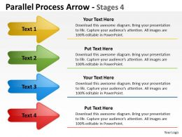 Parallel Process Arrow Stages 30