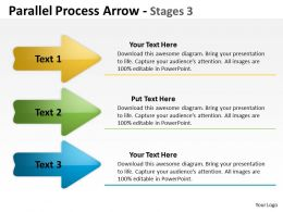 Parallel Process Arrow Stages 36