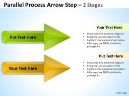Parallel Process Arrow Step 2 Stages 9